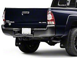 Rear Bumper; Black; Replacement Part (05-15 Tacoma)