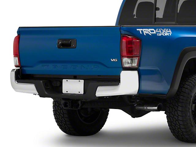 Rear Bumper; Chrome (16-21 Tacoma)