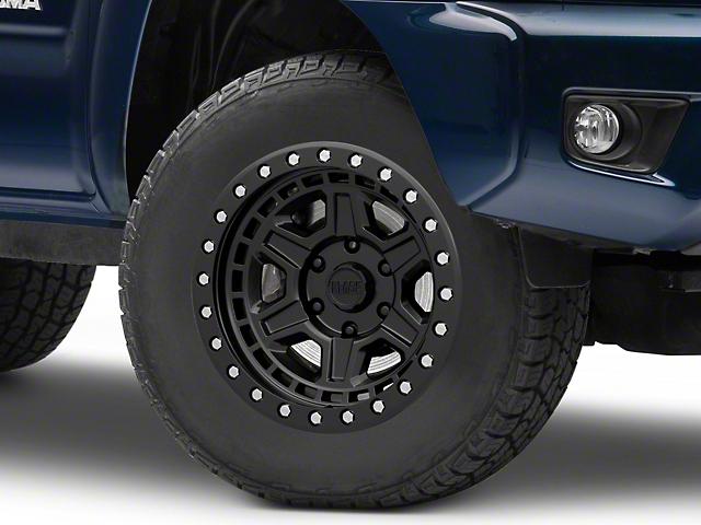 Black Rhino Reno Matte Black with Brass Bolts 6-Lug Wheel; 18x9.5; 12mm Offset (05-15 Tacoma)
