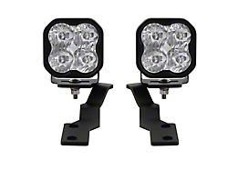 Diode Dynamics SS3 Sport LED Ditch Light Kit; White Driving (16-21 Tacoma)