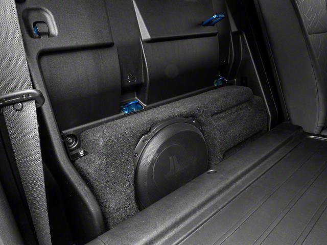 JL Audio Stealthbox; Black (16-21 Tacoma Double Cab)