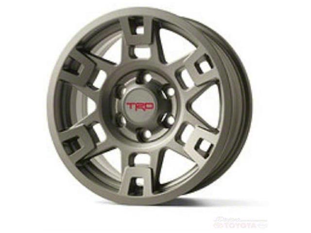 Toyota TRD Graphite 6-Lug Wheel; 17x7; 4mm (05-15 Tacoma)