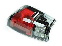 Toyota TRD Pro Tail Light; Black Housing; Clear Lens; Passenger Side (16-21 Tacoma)