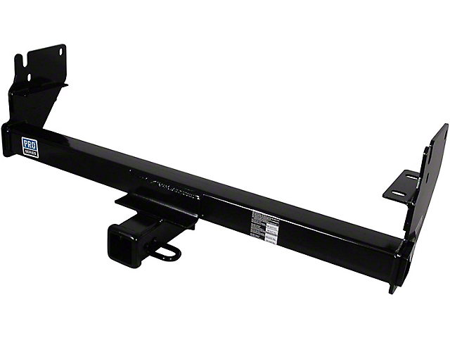 Pro Series Class III Trailer Hitch; Square Tube (05-15 Tacoma, Excluding X-Runner)