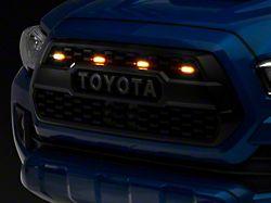 Cali Raised LED TRD Pro Grille Raptor Style Lights (16-21 Tacoma)