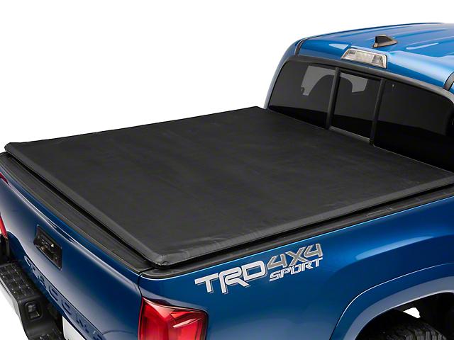 Roll Up Style Tonneau Cover; Black (16-21 Tacoma)