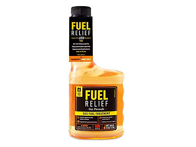 Mishimoto Fuel Additive; Fuel Relief Gasoline Fuel Treatment (Universal Fitment)