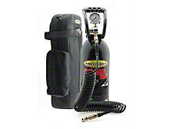 Smittybilt Tire Air Compressor Kit; Red; 10-Gallon Capacity