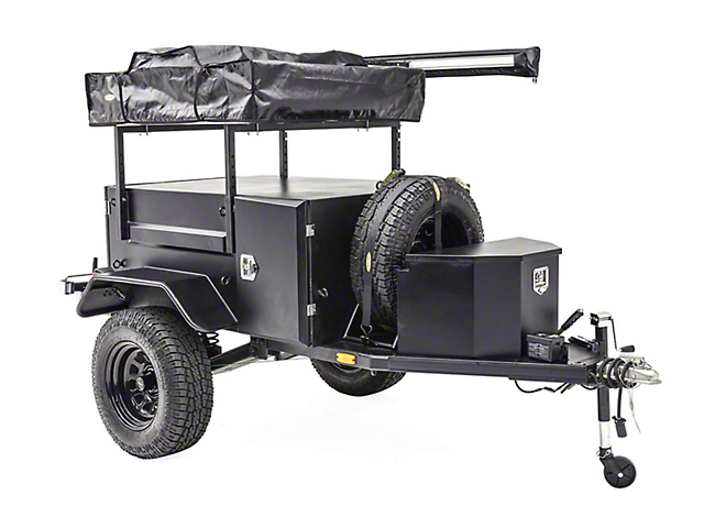 Smittybilt Scout Trailer Kit; 3,306-Pound Weight Rating GVWR