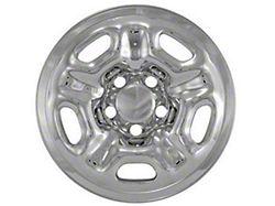 Wheel Cover; 15 Inch Hub Cap; 4 Piece; Chrome (05-15 Tacoma)