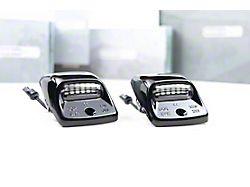Morimoto XB LED License Plate Lights; Smoked (05-15 Tacoma)