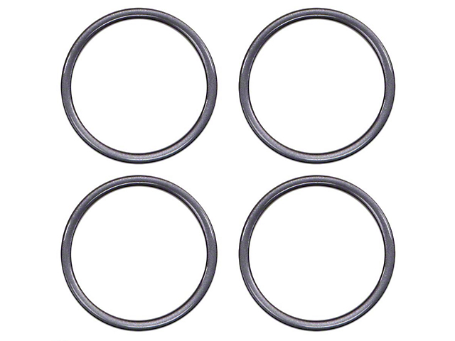 A/C Vent Ring Accents; Magnetic Gray Metallic (16-21 Tacoma)