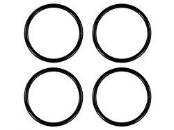 A/C Vent Ring Accents; Matte Black (16-21 Tacoma)