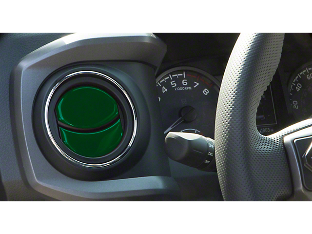 Air Vent Accent Trim; Army Green (16-21 Tacoma)