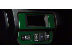 Dim Light 4-Switch Control Accent Trim; Army Green (16-21 Tacoma)