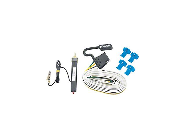 Trailer Light Control Module; 4-Flat Wiring Kit