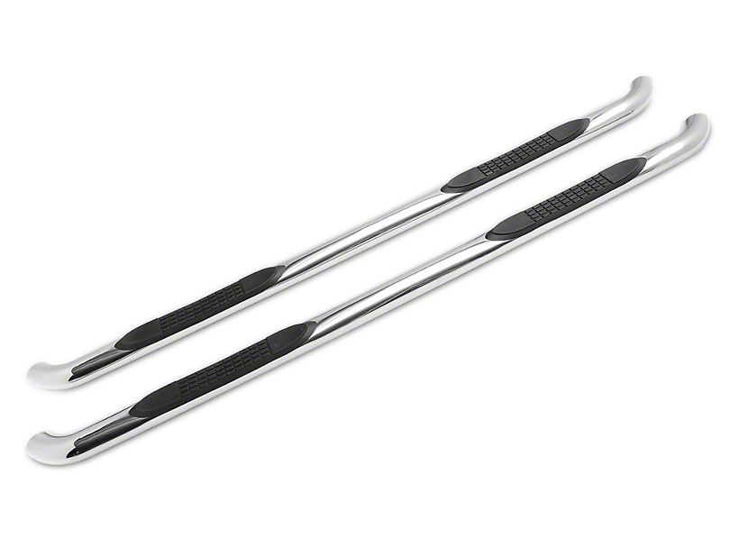 Duratrek 3 in. Side Step Bars - Stainless Steel (07-20 Tundra Double Cab)