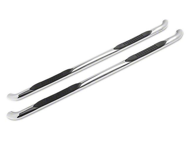 RedRock 4x4 3-Inch Side Step Bars; Stainless Steel (07-21 Tundra Double Cab)