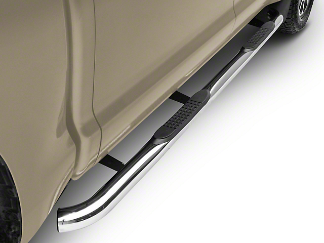 Duratrek 3 in. Side Step Bars - Stainless Steel (07-20 Tundra CrewMax)