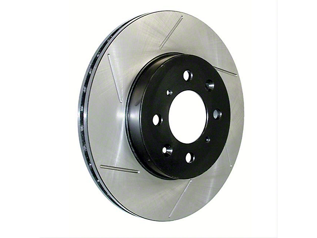 StopTech Sport Slotted 5-Lug Rotor; Rear Passenger Side (07-21 Tundra)
