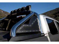 Sport Bar 2.0 Roll Bar with Power Actuated Retractable Light Mount; Polished (07-21 Tundra)