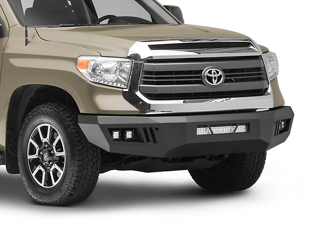 Barricade HD Front Bumper with LED Fog Lights, Spot Lights and 20-Inch LED Light Bar (14-21 Tundra)