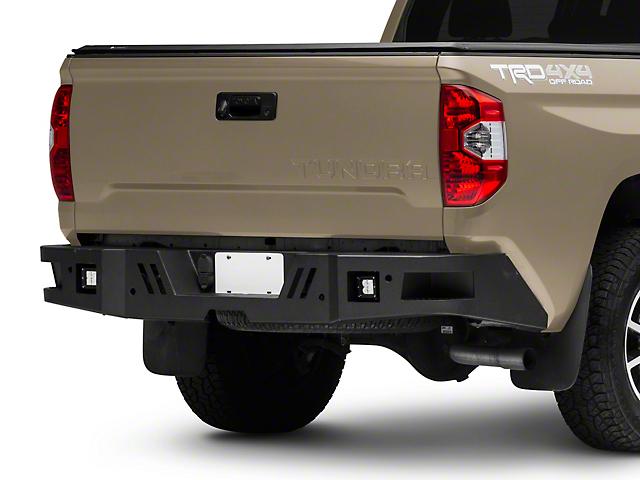 Barricade HD Rear Bumper with LED Fog Lights (14-21 Tundra)