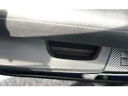Door Armrest Foam Inserts; Black/Black (14-21 Tundra CrewMax)