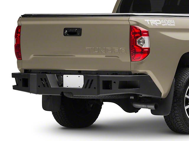 Barricade HD Rear Bumper; Textured Black (14-21 Tundra)
