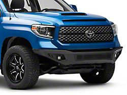 Barricade HD2 Front Bumper with LED Fog Lights; Textured Black (14-21 Tundra)