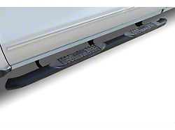 Raptor Series 4-Inch OE Style Curved Oval Side Step Bars; Black (07-21 Tundra CrewMax)