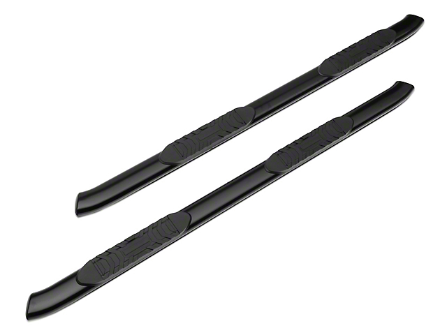RedRock 4x4 PNC Side Step Bars; Textured Black (07-20 Tundra Double Cab)