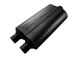 Flowmaster Super 50 Series Center/Dual Oval Muffler; 2.25-Inch / 3-Inch (Universal; Some Adaptation May Be Required)
