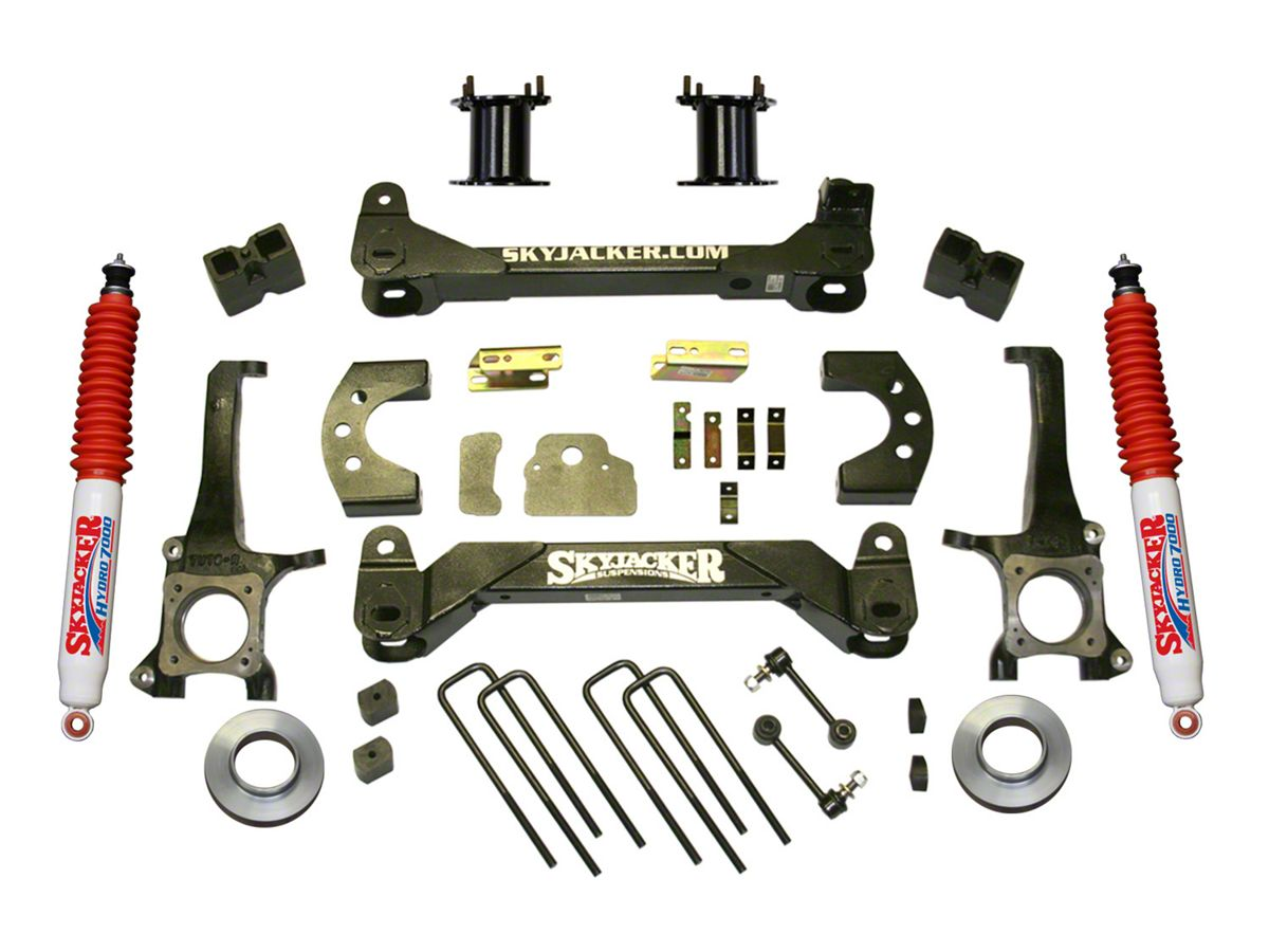 SkyJacker 6 in  Front Strut Spacer Suspension Lift Kit w/ Hydro Shocks  (07-19 Tundra, Excluding TRD Pro or Air Ride Models)