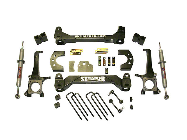 SkyJacker 6-Inch Suspension Lift Kit with Black MAX Shocks (07-20 Tundra, Excluding TRD Pro or Air Ride Models)