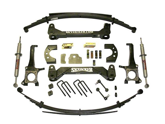 SkyJacker 6 Inch Suspension Lift Kit w/ Leaf Springs & Black MAX Shocks (07-20 Tundra, Excluding TRD Pro or Air Ride Models)