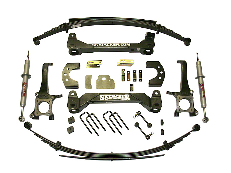 SkyJacker 6-Inch Suspension Lift Kit with Leaf Springs and M95 Performance Shocks (07-20 Tundra, Excluding TRD Pro or Air Ride Models)
