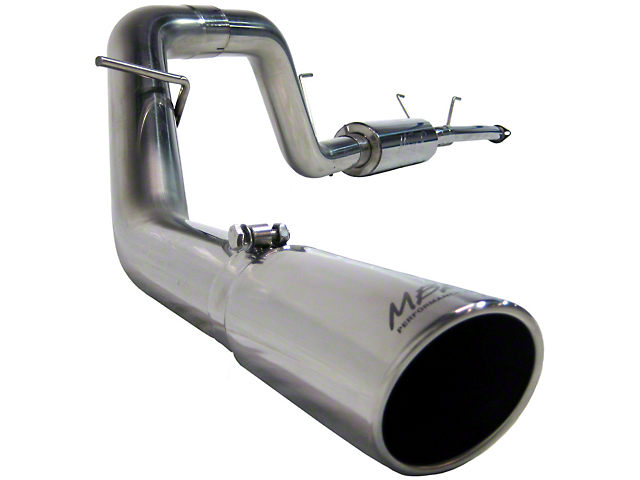 MBRP 3-Inch XP Series Single Exhaust System with Polished Tip; Side Exit (07-08 5.7L Tundra)