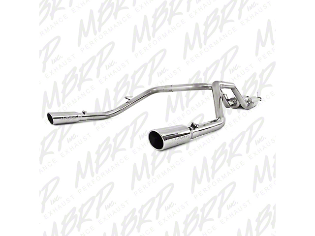 MBRP 2.5 in. XP Series Dual Exhaust System - Rear Exit (09-19 5.7L Tundra)