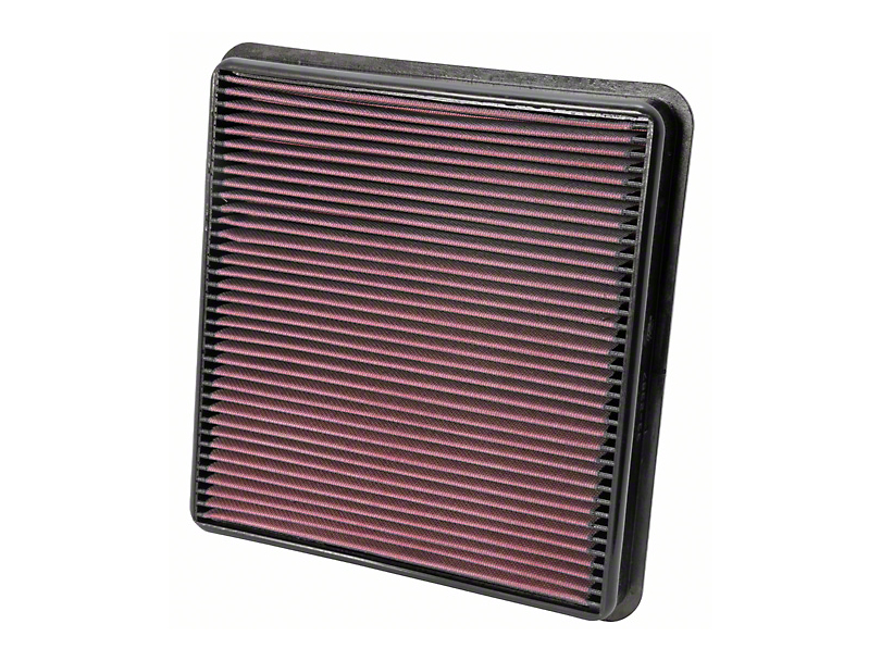 K&N Drop-In Replacement Air Filter (07-13 Tundra; 2014 4.0L Tundra)