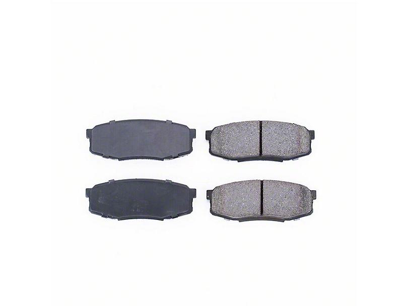Power Stop Z16 Evolution Clean Ride Ceramic Brake Pads - Rear Pair (07-20 Tundra)