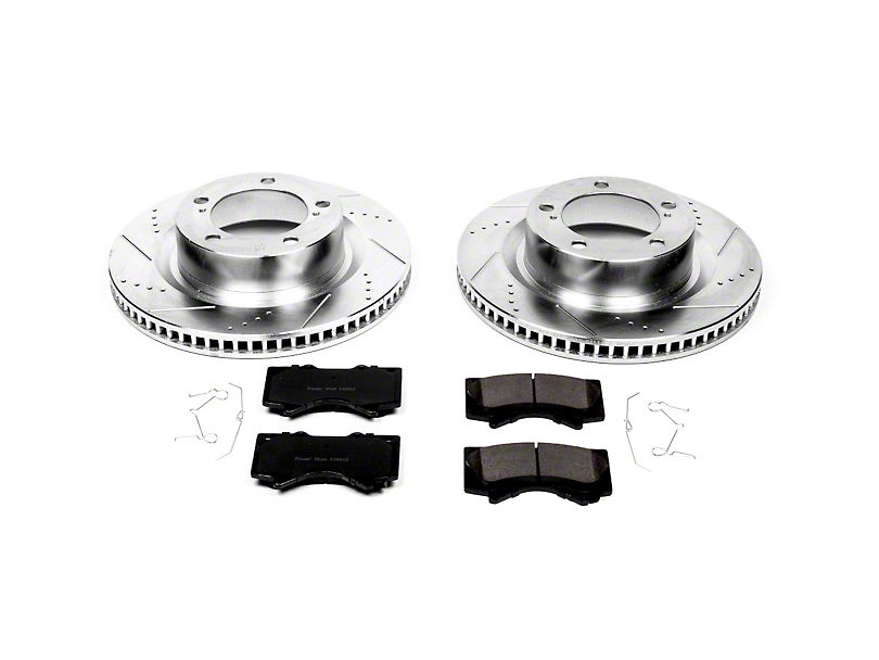 Power Stop Z23 Evolution Sport Brake Rotor & Pad Kit - Front (07-20 Tundra)
