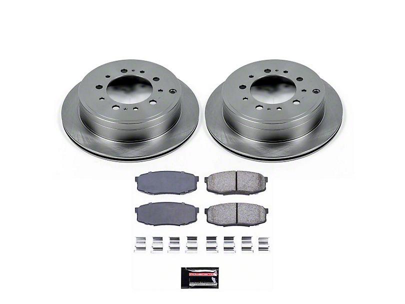 Power Stop OE Replacement Brake Rotor & Pad Kit - Rear (07-20 Tundra)