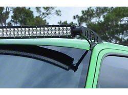 N-Fab 50 Series LED Light Bar Roof Top Light Bar Mount; Textured Black (07-21 Tundra)