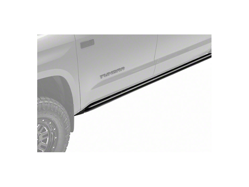 N-Fab Cab Length RKR Side Rails; Textured Black (07-20 Tundra CrewMax)