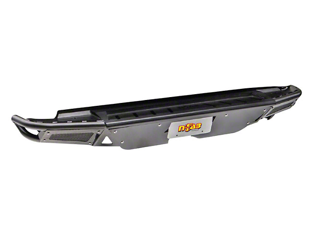 N-Fab RBS-H Rear Bumper; Textured Black (07-13 Tundra)