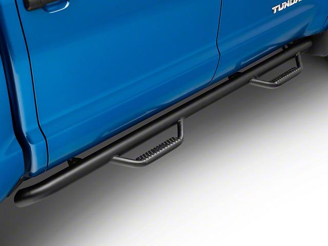 N-Fab Wheel 2 Wheel Nerf Side Step Bars - Textured Black (07-19 Tundra CrewMax)