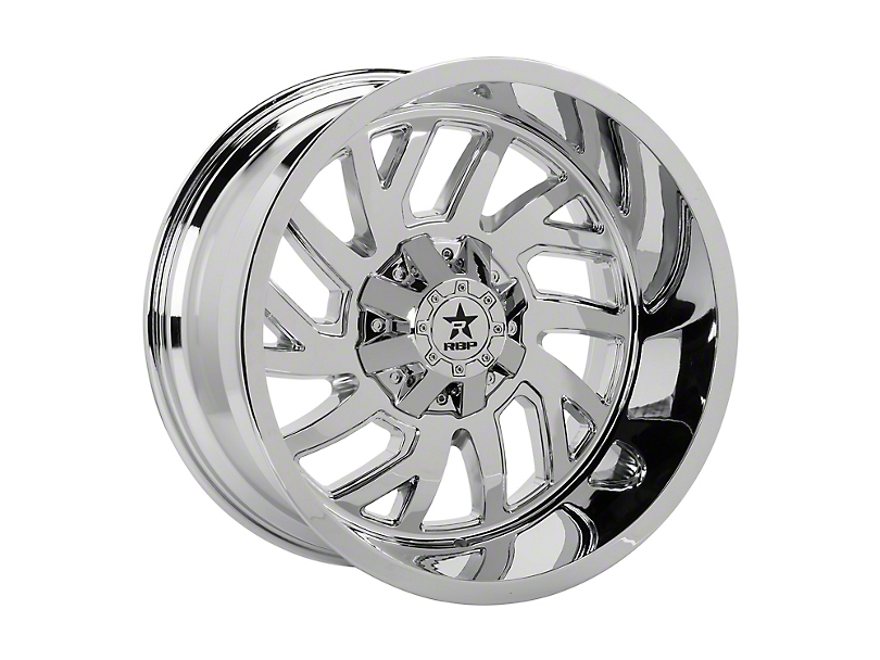 RBP 65R Glock Chrome 5-Lug Wheel; 20x10; 0mm Offset (14-20 Tundra)