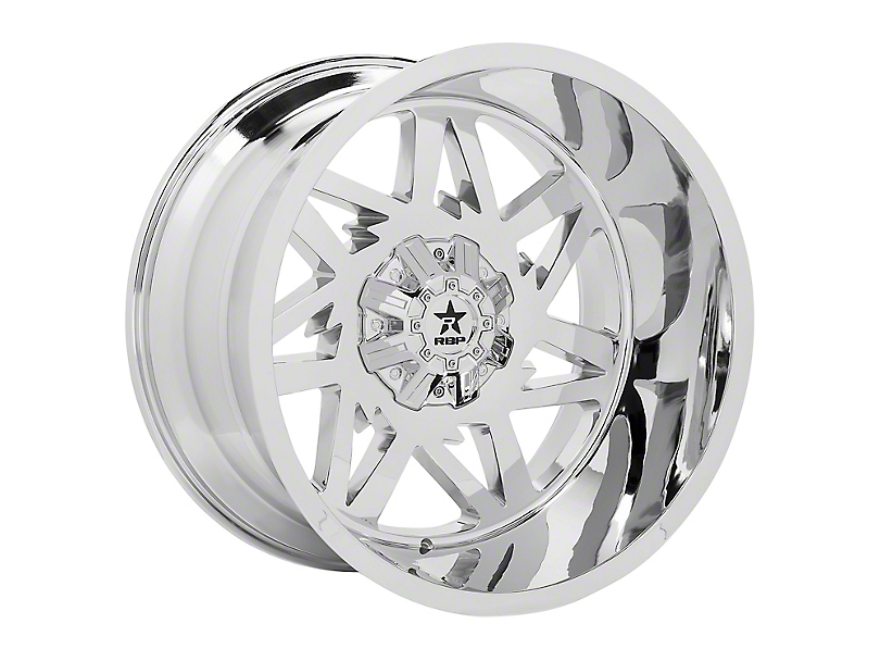 RBP 71R Avenger Chrome 5-Lug Wheel - 20x10; -12mm Offset (14-20 Tundra)