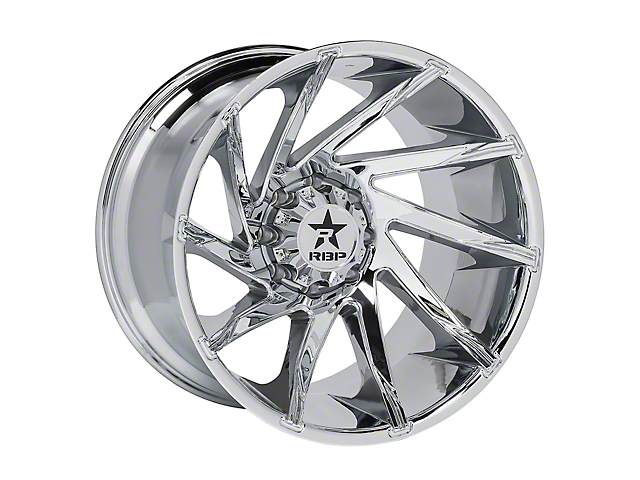 RBP 77R Spike Chrome 5-Lug Wheel; 20x10; 10mm Offset (07-13 Tundra)